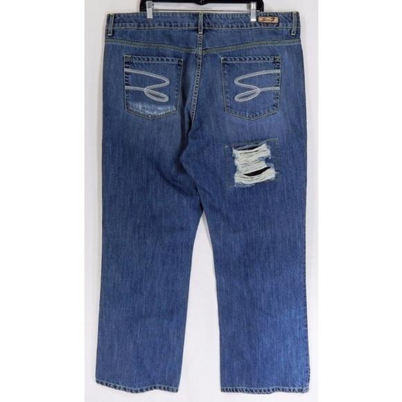 Seven 7 Jeans Woman Plus Size 24 Distressed